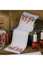 Räknad jullöpare   Advent…                26x81cm