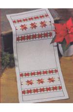 Räknad jullöpare    Stjärnor             30x76cm