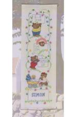 Födelsevepa      Simon                    14x40cm