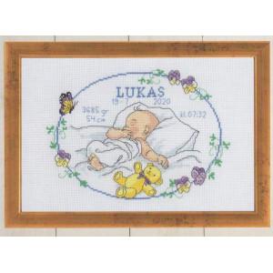 Födelsetavla     Lukas       30x20cm