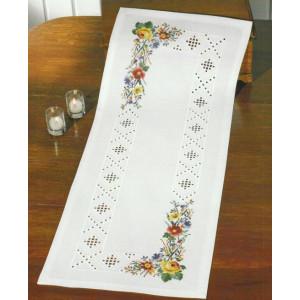 Hardangerlöpare     Blommor    39x102cm
