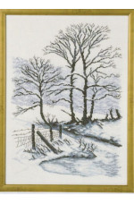 Tavla    Vinter       34x47cm