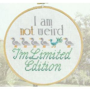 Tavla   I am not weird  ....      20cm/dia