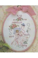 Födelsetavla     Gabriella                   20x25cm