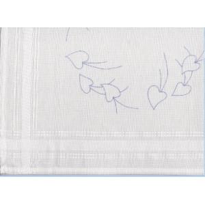 Ritad vit fållad bomullsduk Jul 40x40 cm