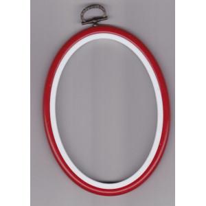 Fexi ram  röd 10 x14 cm