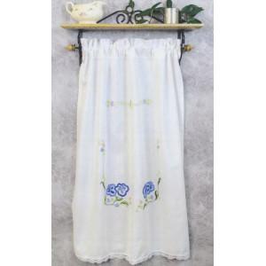 Paradhanddukar   Blå blommor       68x88cmcm